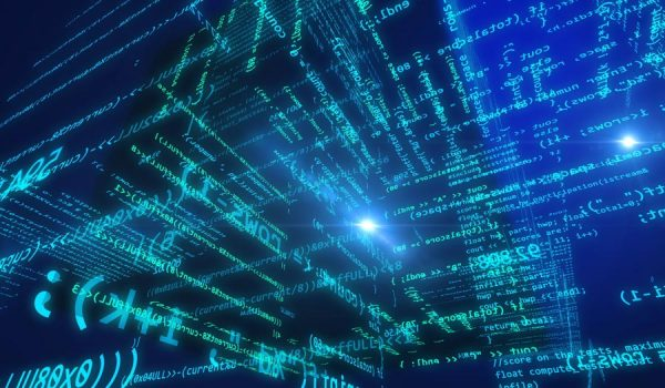 Abstract representation of a computer model